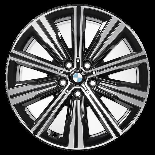 """18"""" 2019-2020 BMW 330i M340i Machined Black Wheel 86492 Style 782"""