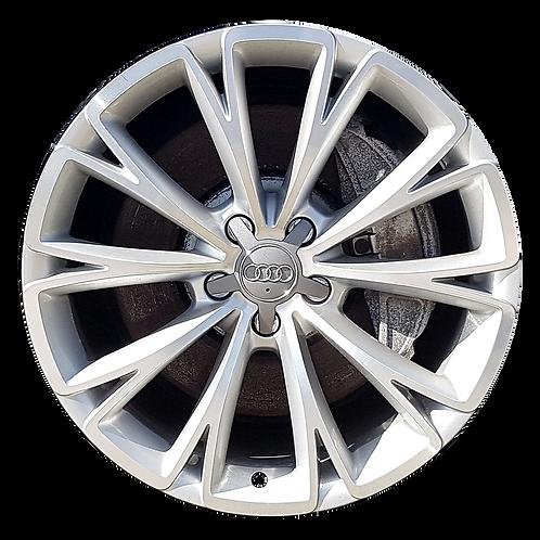"19"" 2011-2015 Audi A8 Machined Silver Wheel 58870"