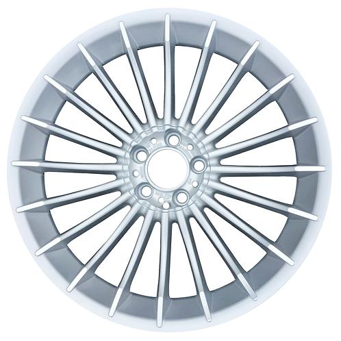 "21"" 2011-2015 BMW Alpina B7 Silver Front Wheel 71461"