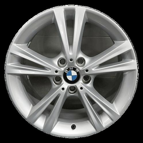 """18"""" 2014-2020 BMW 228i 230i M235i M240i Silver Rear Wheel 86151 Style 385"""