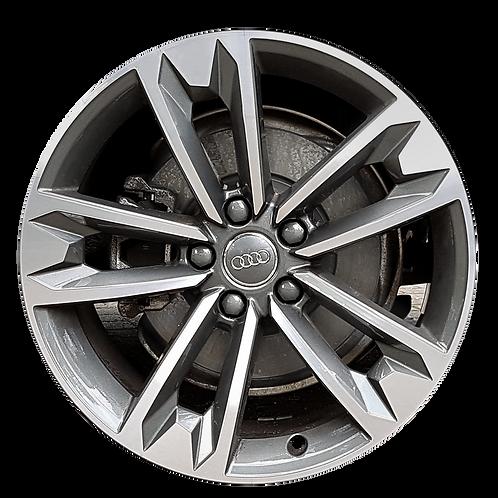 "18"" 2017-2019 Audi Allroad Machined Grey Wheel 59013"