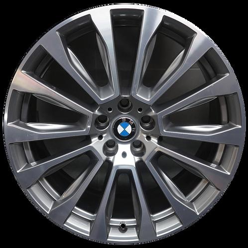 "20"" 2018-2020 BMW X3 X4 Machined Silver Rear Wheel 86362 Style 697"