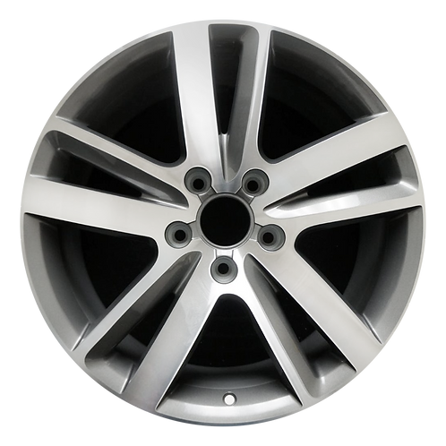 "20"" 2010-2015 Audi Q7 Machined Grey Wheel 58862"