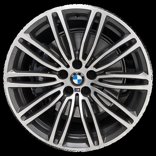 """19"""" 2017-2020 BMW 530e 530i 540i M550i Grey Rear Wheel 86332 Style 664"""
