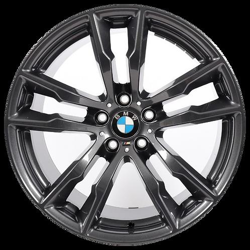 "20"" 2016-2020 BMW X5M X6M Grey Rear Wheel 86193 Style 611"
