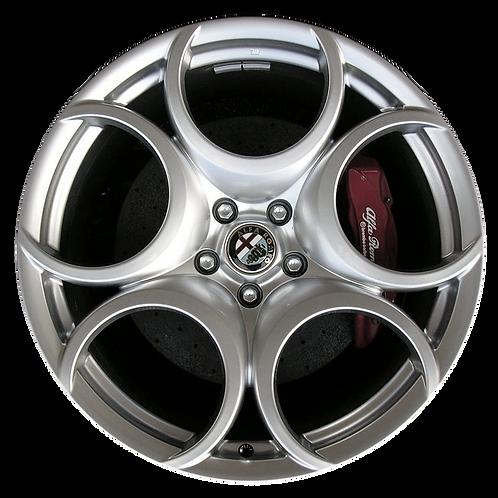 "19"" 2015-2019 Alfa Romeo 4C Silver Rear Wheel 58158"