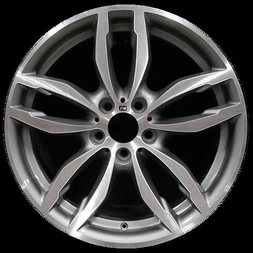 """19"""" 2015-2018 BMW X3 X4 Machined Grey Rear Wheel 86104 Style 622"""