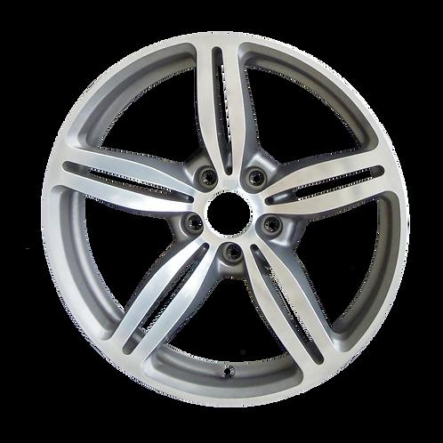 """19"""" 2006-2010 BMW M6 Polished Grey Rear Wheel 59600 Style 167"""