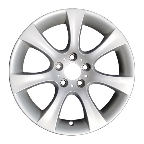 """18"""" 2004-2010 BMW 525i 528i 530i 535i 550i Silver Rear Wheel 59479 Style 124"""