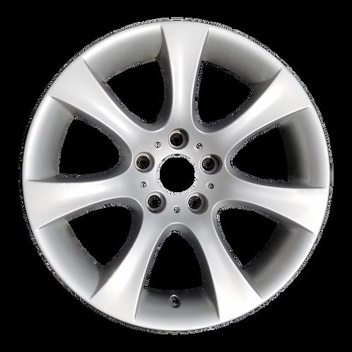 "18"" 2004-2010 BMW 525i 528i 530i 535i 550i Silver Front Wheel 59475 Style 124"