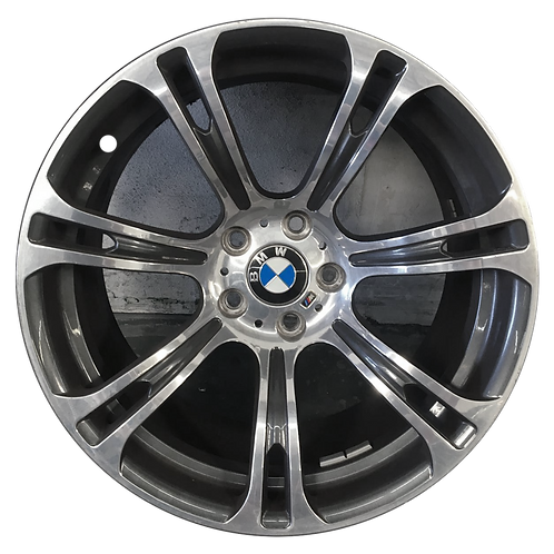 """19"""" 2012-2019 BMW M6 Polished Charcoal Front Wheel 71575 Style 344"""