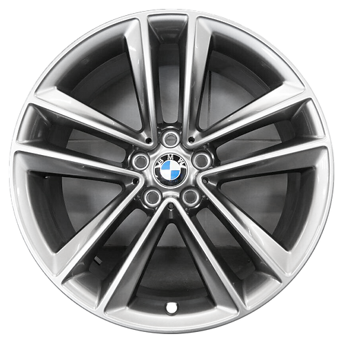 "19"" 2016-2020 BMW 640i GT 740e 740i 745i 750i Grey Front Wheel 86276 Style 630"