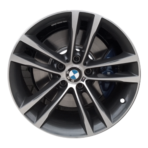 "19"" 2014-2019 BMW 328i GT 330i GT 335i GT Charcoal Front Wheel 86025 Style 598"