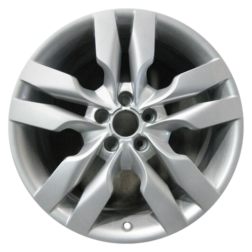 "19"" 2007-2011 Audi A6 S6 Silver Wheel 58815"
