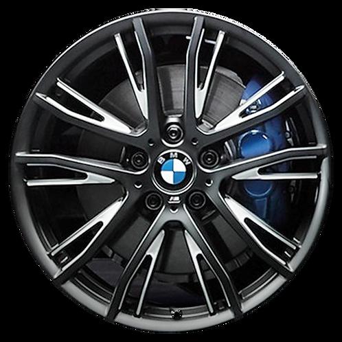 """20"""" 2014-2020 BMW 320i 328i 330i 340i 438i 430i Black Wheel 86065 Style 624"""