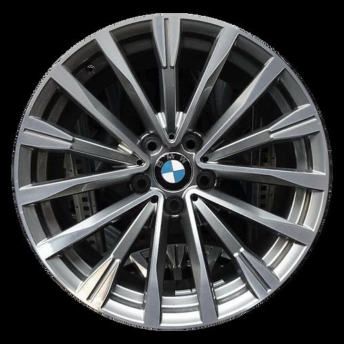 "19"" 2017-2019 BMW 330i GT 340i GT Machined Grey Rear Wheel 86307 Style 674"