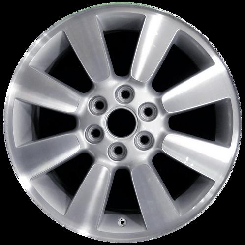 "17"" 2007 Buick Terraza Machined Silver Wheel 4099 & 4073"