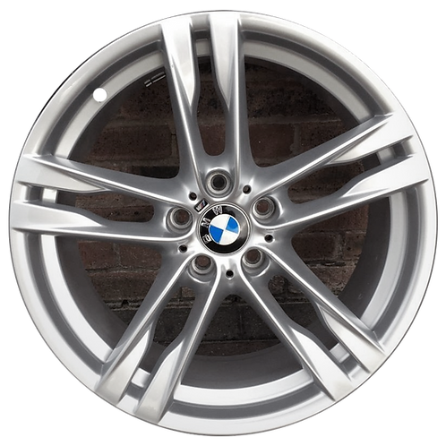 "20"" 2012-2019 BMW 640i 650i Silver Rear Wheel 71524 Style 373"