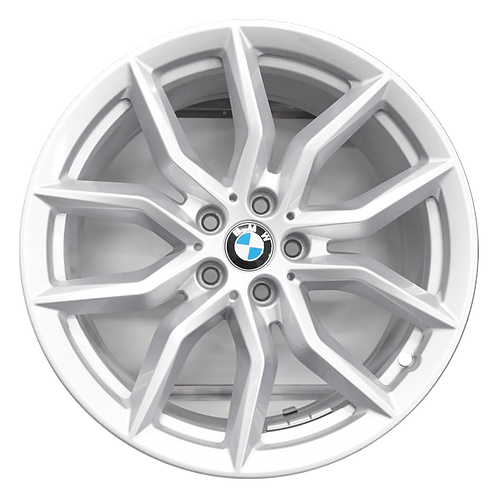 "19"" 2019-2020 BMW X5 X6 Silver Wheel 86457 Style 734"