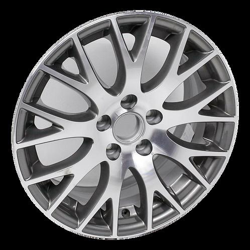 "17"" 2005-2008 Audi A4 Machined Grey Wheel 58909"