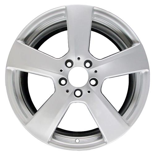 """18"""" 2010-2013 Mercedes-Benz E-Class Silver Rear Wheel 85130"""