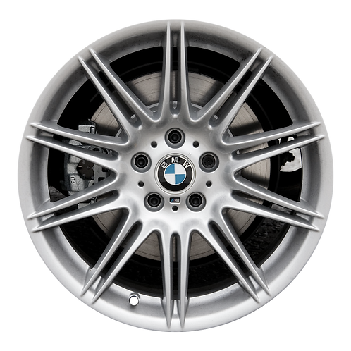 "19"" 2007-2013 BMW 323i 328i 335i Silver Front Wheel 71238 Style 225"