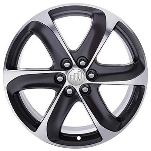 """20"""" 2018-2020 Buick Enclave Polished Charcoal Wheel 4154"""