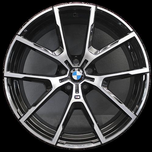 "20"" 2019-2020 BMW 840i M850i Machined Grey Rear Wheel 86428 Style 728"