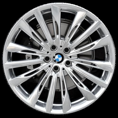 """20"""" 2016-2020 BMW 640i GT 740e 740i 745i 750i Polish Rear Wheel 86287 Style 646"""