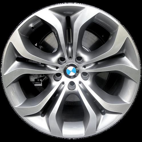 """20"""" 2011-2015 BMW X5 X6 Machined Grey Front Wheel 71447 Style 336"""