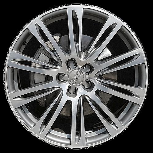 "20"" 2011-2018 Audi A7 A8 Machined Grey Wheel 58982"