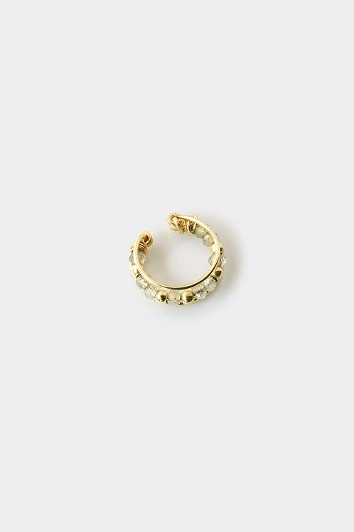 Gold Filled Labradorite Ear Cuff