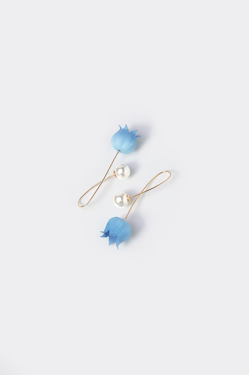 Floral Earring (Lily of the Valley)