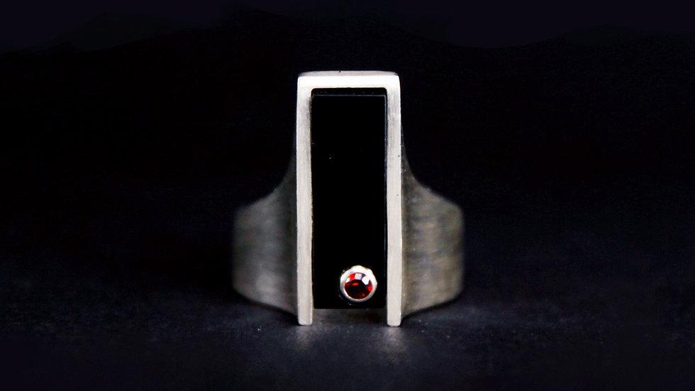 梵 Signet Ring (Narrow)