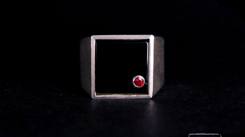 梵 Signet ring (Square)