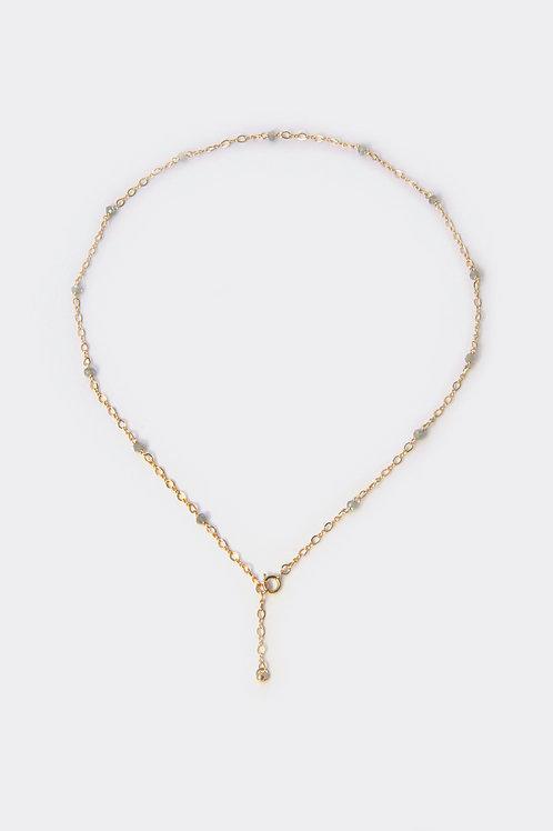 Gold Filled Labradorite Necklace