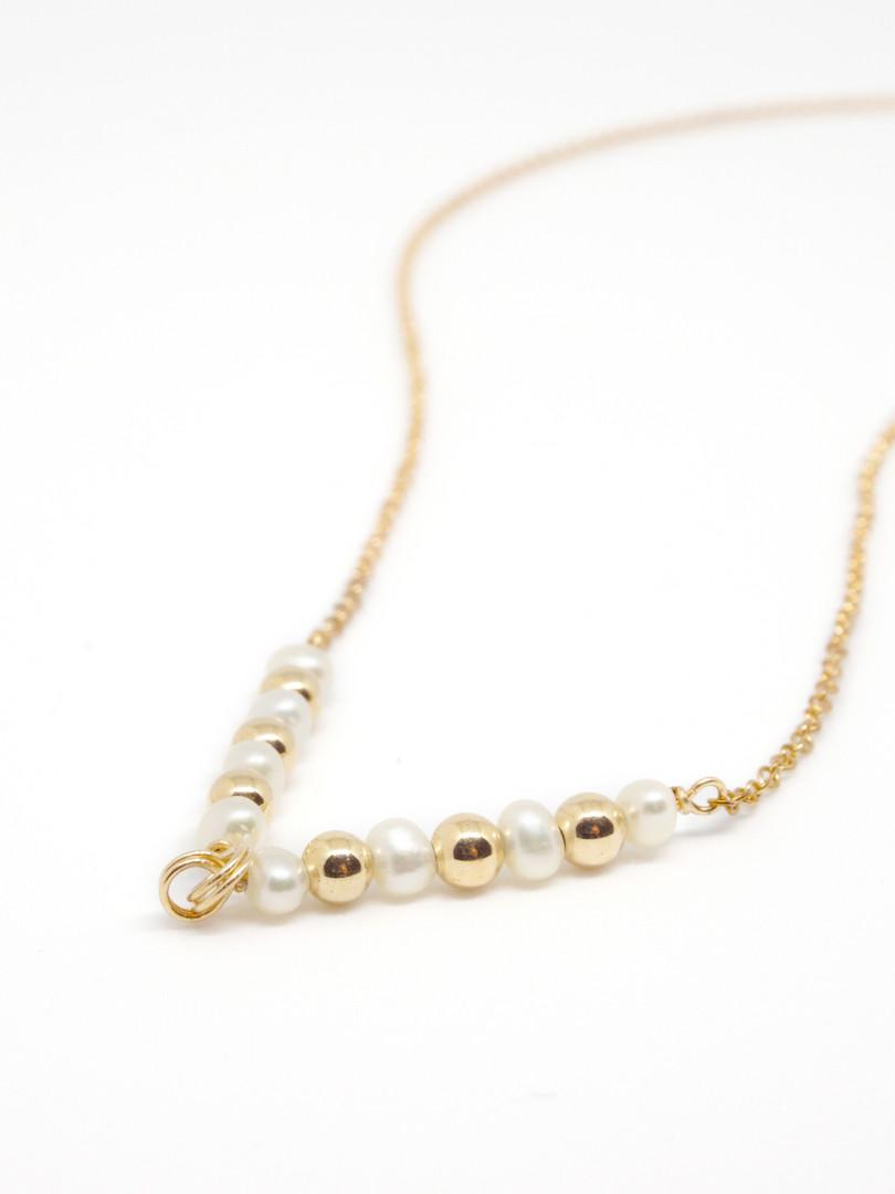 gold-filled pearl V chain.jpg