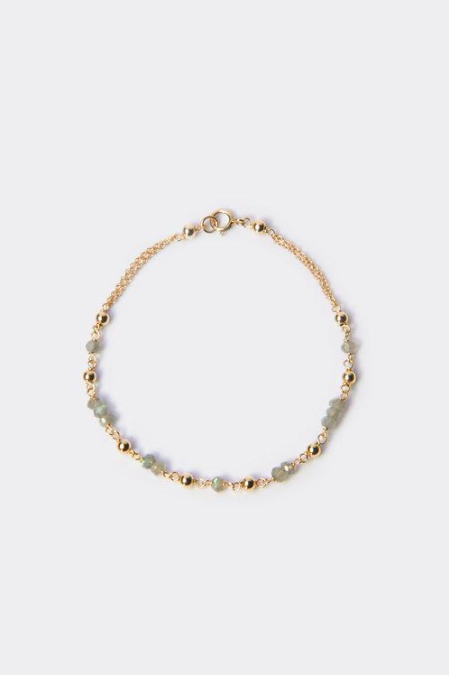 Gold Filled & Labardorite Bracelet