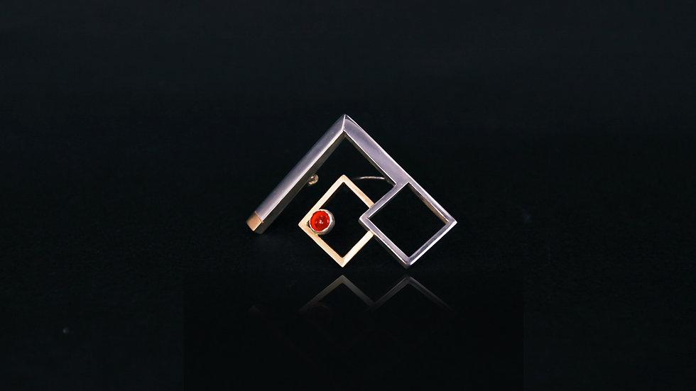 Geometric Collar Pin