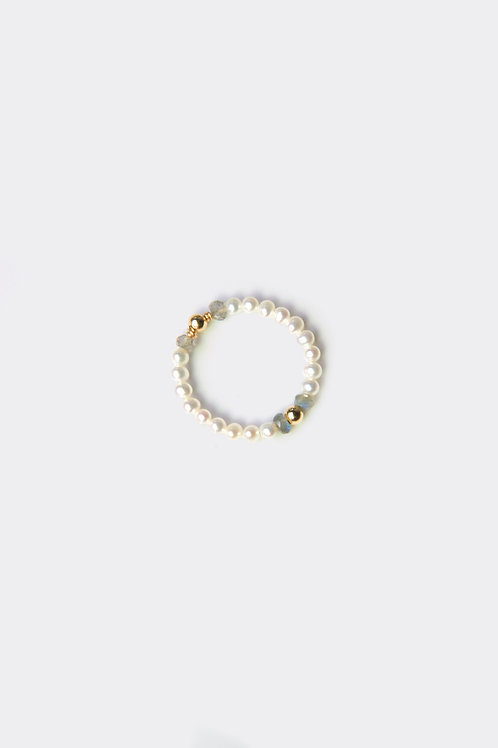 Gold Filled Pearl Ring