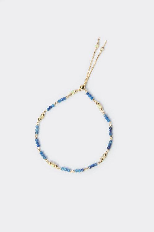 Gold Filled & Kyanite Bracelet