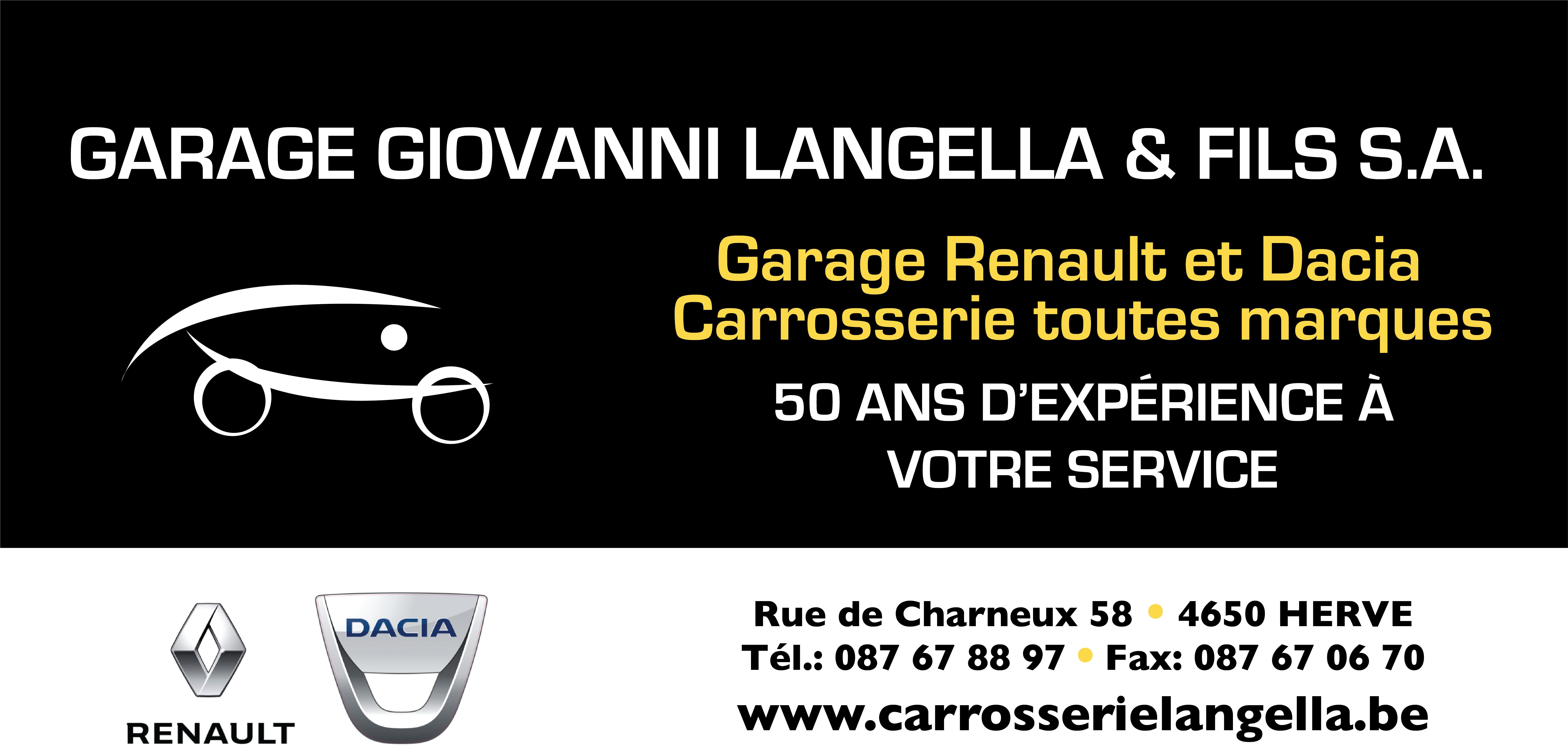Panneau Garage Langella