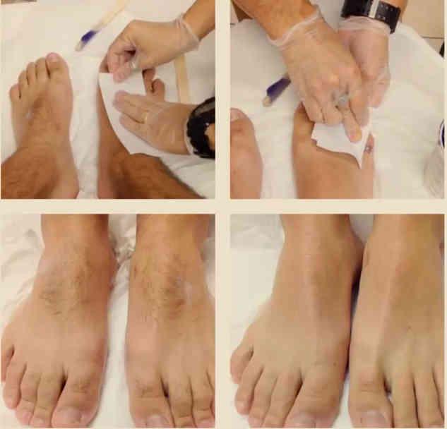 waxing legs at Alexspot24
