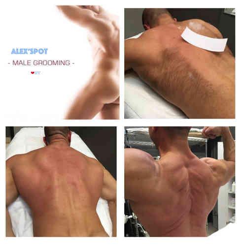 Alexspot24 Men Spa NYC Male brazilian Hair Waxing & Trimming Expert Male Massage