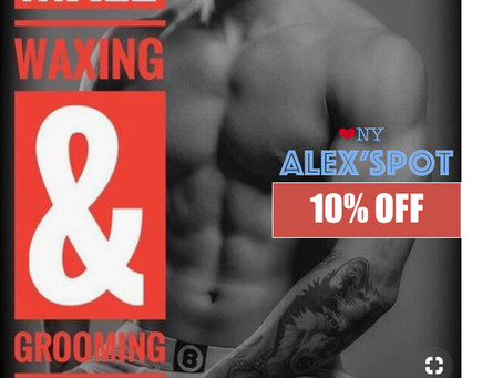 Men's Body Grooming & Waxing for Men Vday Special!
