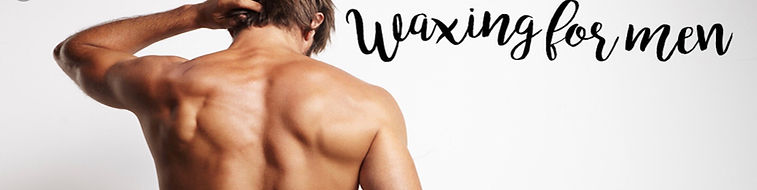 waxing for men service, body grooming se