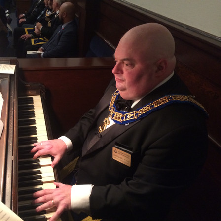Christopher Putnam, playing at Grand Lodge