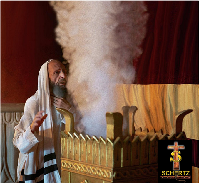 Zacharias Encounters The Angel Gabriel.p