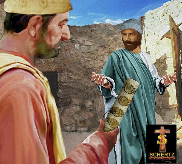 Joseph Speaks To The Priest Concerning M