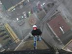 qubsteam.pl Qubs Team Usługi Wysokościowe Wrocław, Prace Alpinistyczne Wrocław Kominy: czyszczenie, malowanie, burzenie, demontaż